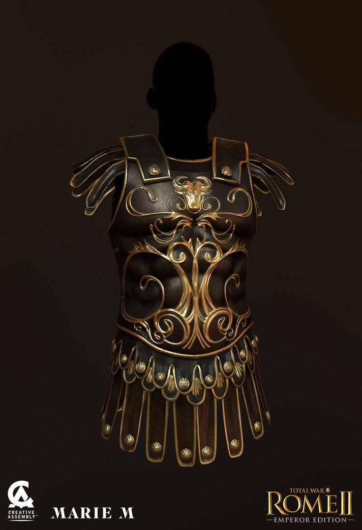 Total war : Rome II - Emperor Edition, Marie-Michelle Pepin on ArtStation at https://www.artstation.com/artwork/total-war-rome-ii-emperor-edition