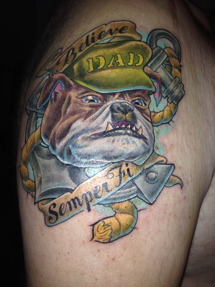 marines bulldog tattoo 17 best marine corps tattoos images on pinterest marine 7475