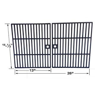 Grillpartszone- Grill Parts Store Canada - Get BBQ Parts, Grill Parts Canada: Arkla Cooking Grid | Replacement 2 Pack Cast Iron ...
