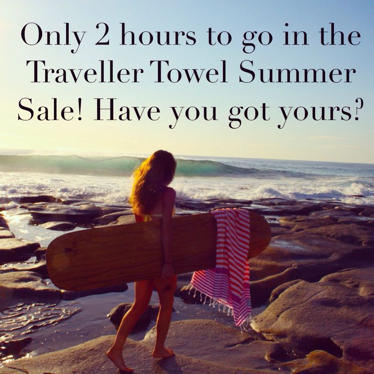 Only 2 hours are left to pickup 20% off in our Traveller Towel Summer #Sale! Just spend $50 or more in our online store using the coupon code: summer20. Are you ready for #summer? www.sandycovetradingcompany.com.au  #gift #summer #turkishtowel