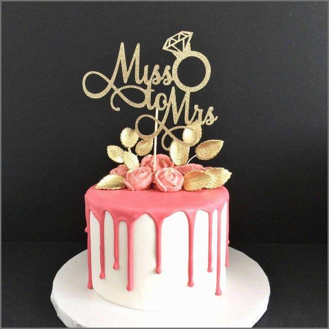27 Elegant Image Of Birthday Cake Toppers Michaels Birijus Com Bridal Shower Cake Topper Bachelorette Cake Hen Party Cakes