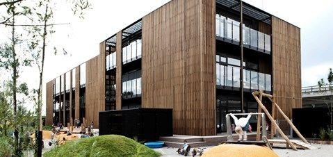 Det Lille Univers   Udearealer daginstitution   Arkitema