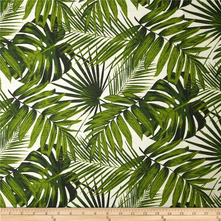 Tempo Tropical Botanics Natural from @fabricdotcom  Screen printed on (approx. 7 ounce) cotton slub duck, this versatile medium weight fabric is perfect for window accents (draperies, valances, curtains and swags), accent pillows, bed skirts, duvet covers, slipcovers, upholstery and other home decor accents. Create handbags, tote bags, aprons and more. Colors include natural and green.
