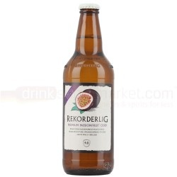 The newest flavour sensation to come out of Rekorderlig Cider is the summer kissed Rekorderlig Passionfruit. Now available at DrinkSupermarket.com single bottle is £2.39 a case of 15 £30.49