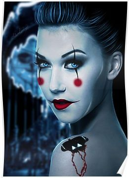 makeup & circus theme - Click image to find more Hair & Beauty Pinterest pins