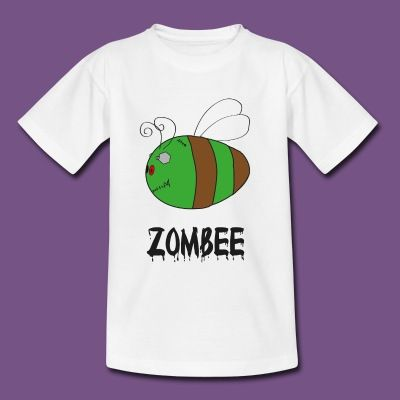 Zombee, Halloween https://shop.spreadshirt.de/Honbee/?noCache=true#!zombee-A100765587