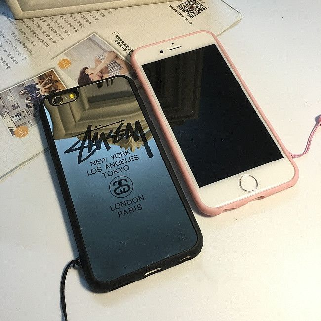 iPhone7 plus ケース ステューシー 花柄 女性 レディース