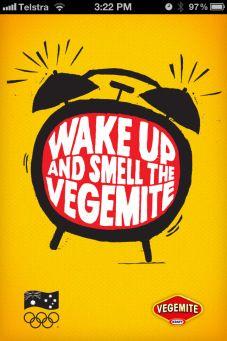 vegemite olympic app