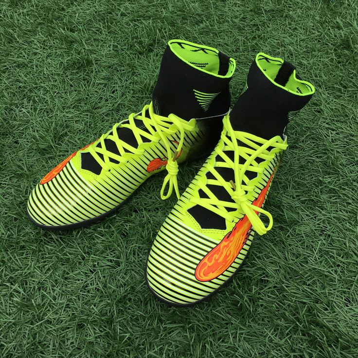 New High Ankle Turf Football Boots Men Indoor Soccer Cleats Shoes zapatillas deportivas hombre Soccer Sneakers size 39-44