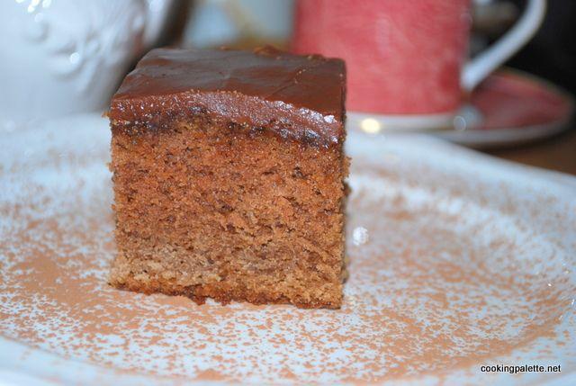 Кока-кола шоколадный торт