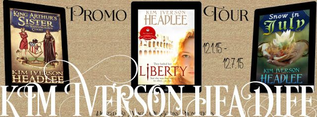 Check out the author spotlight for Kim Iverson Headlee featuring King Arthur's Sister in Washington's Court, Liberty, & Snow in July & Giveaway                                 http://padmeslibrary.blogspot.com/2015/12/author-spotlight-kim-iverson-headlee.html