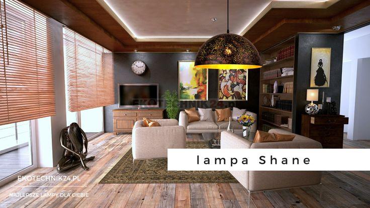 Lampa wisząca Shane Rabalux. Rust lamp