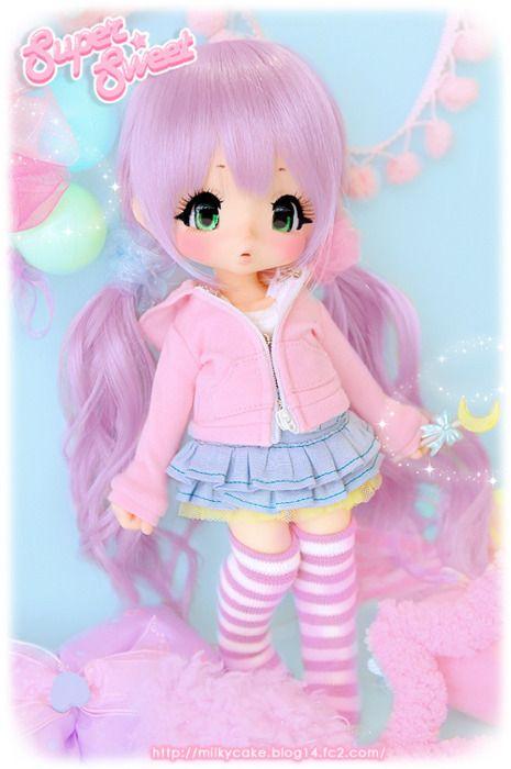 pink doll #dolls
