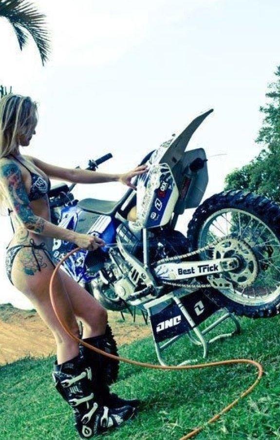 104 best images about biker girls on pinterest for Biker chick tattoos