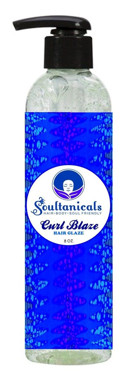 Soultanicals - Curl Blaze Hair Glaze, $13.00 (http://www.soultanicals.com/curl-blaze-hair-glaze/)