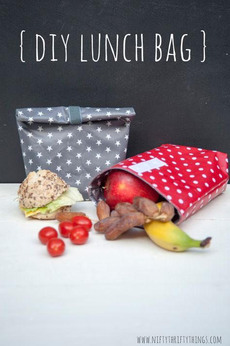 Lunchbag Nähanleitung
