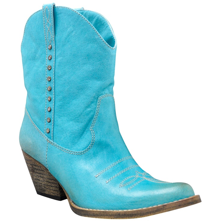 {Bolero Boot Aqua Blue} Volatile - awesome!