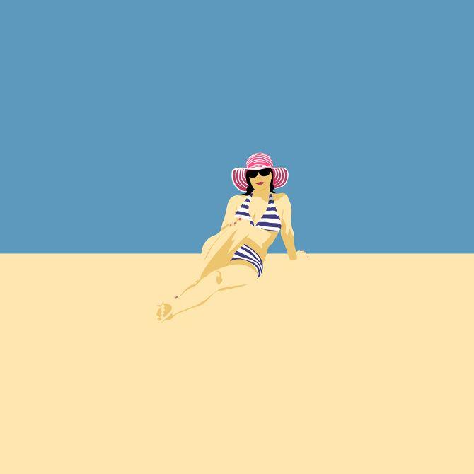 Shoreline, Illustration by Amy DeVoogd