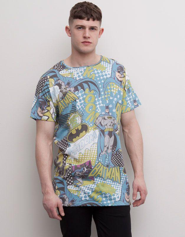 Pull&Bear - man - t-shirts - print t-shirt - white - 05240567-I2015