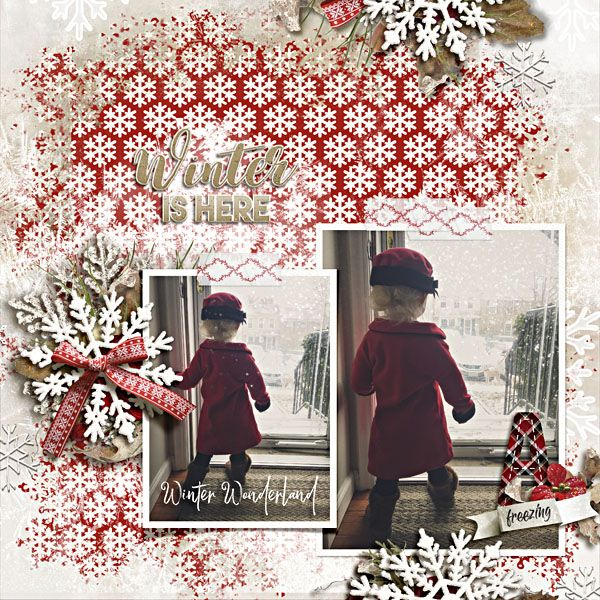Hello Winter Collection by Raspberry Road Designs