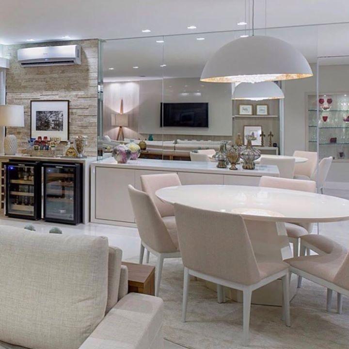 25 melhores ideias de sala conjugada no pinterest sala for Sala de estar kawaii