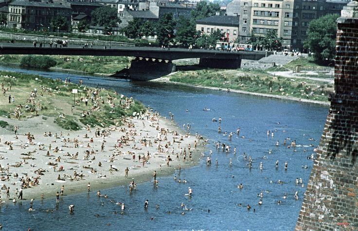 Most Dębnicki, Kraków - 1963 rok, stare zdjęcia