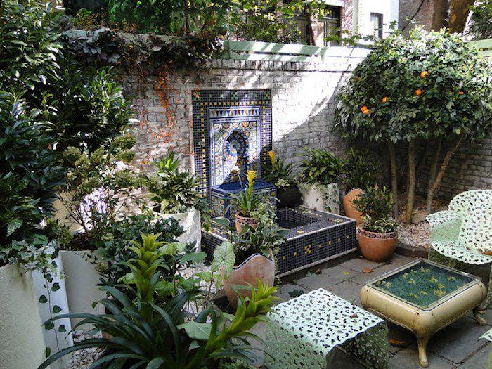 les 25 meilleures id es de la cat gorie jardin marocain sur pinterest id es d 39 clairage de. Black Bedroom Furniture Sets. Home Design Ideas