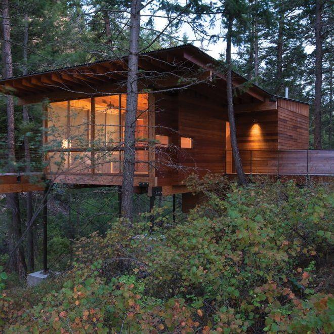 Cabin on Flathead Lake | Architizer