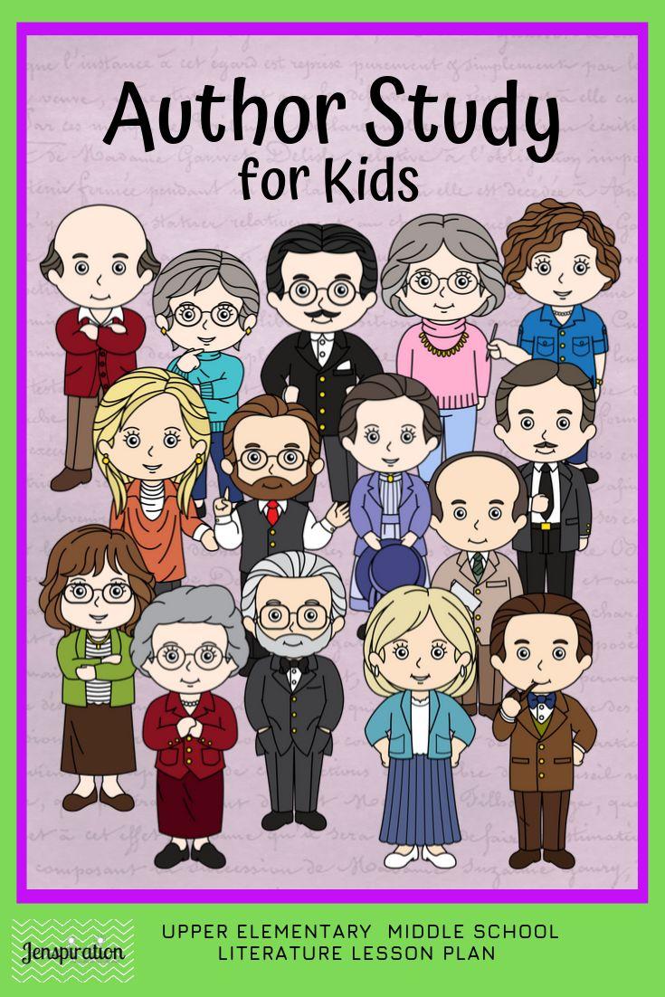 Author study for kids 15 authors author studies