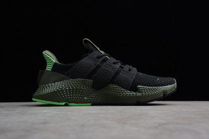 adidas Originals Prophere Black Shock Lime-Green Shoes-1  c570c9890