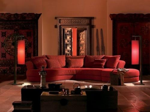44 besten Red sofa room ideas Bilder auf Pinterest Rote sofas - wohnzimmer ideen rote couch