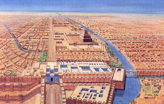 Vista general de Babilonia