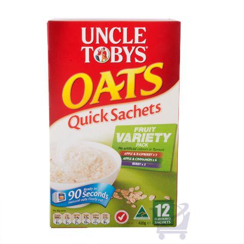 Uncle Tobys Oaks Quick Fruit Variety Pack – Uncle Tobys,  420g | Shop Australia