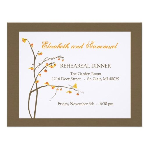 >>>Coupon Code          Fall Rehearsal Dinner Invitation           Fall Rehearsal Dinner Invitation online after you search a lot for where to buyReview          Fall Rehearsal Dinner Invitation Here a great deal...Cleck link More >>> http://www.zazzle.com/fall_rehearsal_dinner_invitation-161915051130710660?rf=238627982471231924&zbar=1&tc=terrest