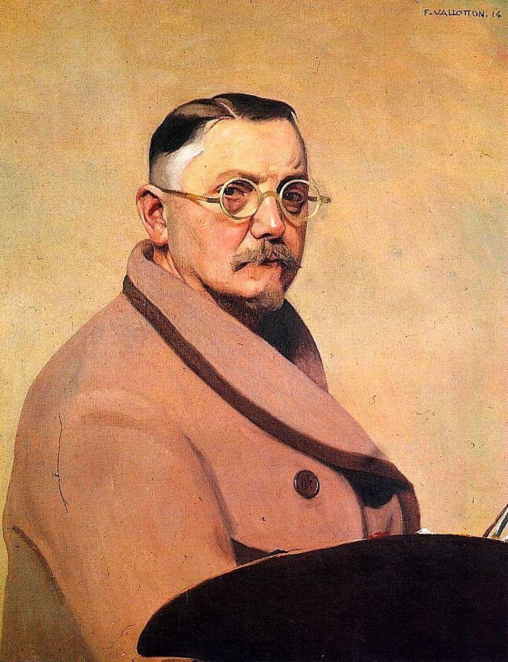 """Self Portrait"" by Felix Vallotton, 1914"