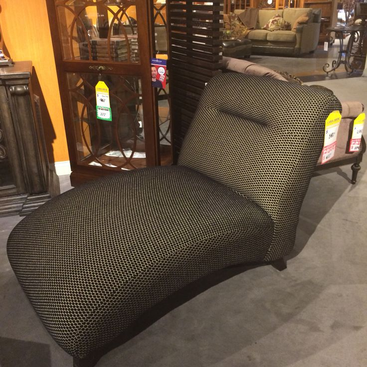 Beautiful Chaise For Master To Replace Leather Chair (under $500 Carol House!)