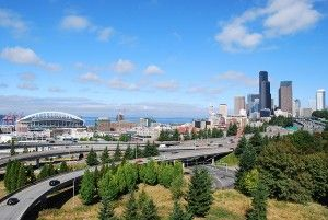 Dr. Jose Rizal Park offers the best view of #Seattle from Beacon Hill.