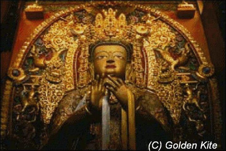 Sakyamuni Buddha, Bodnath Monastery