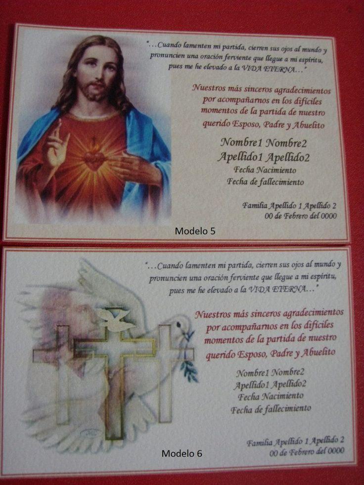 Pics Photos - Tarjetas Recuerdos Misa Difuntos Bsf Mercadolibre Portal Picture