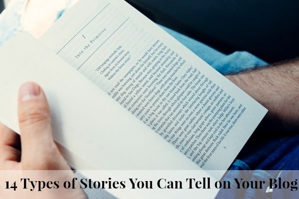 Storytelling connects blogger and reader like no other way - even if you think you're not much of a writer, these ideas will help you create readable tales.