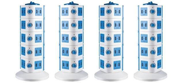 This tower of power gives you 40 USB ports for charging everything http://gizmo.do/28af9cC pic.twitter.com/x4tuICJOz4 BB, iPad, iPod, iPhone and of course GS4. Still 35 MORE ports available! Calling all chargeable devices!