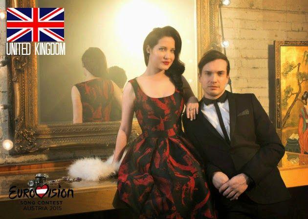 The Eurovision Song Reviews: United Kingdom: #Eurovision 2015   Electro Velvet   #UK