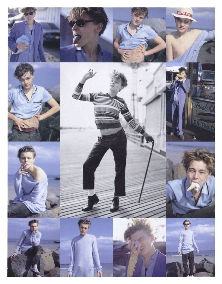 bohemea:    Leonardo DiCaprio - Interview by Bruce Weber, June 1994