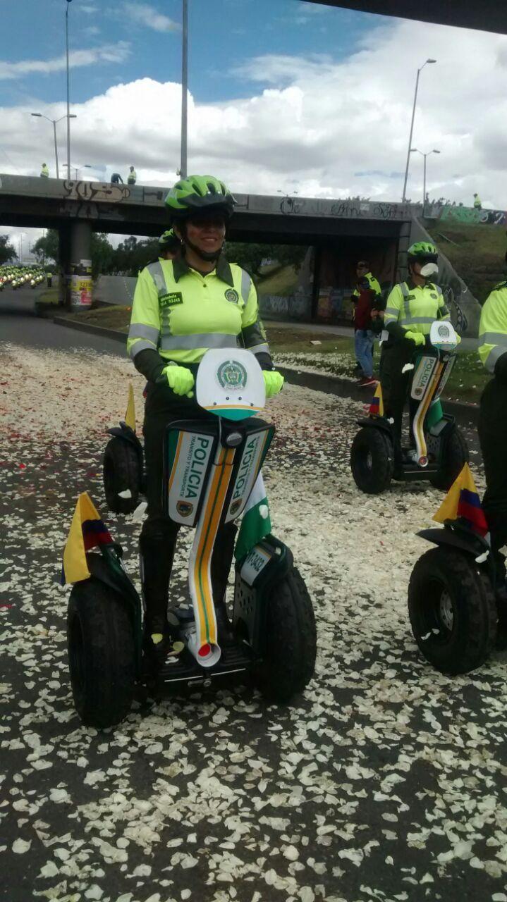 Policía de Tránsito y Transportes. #20DeJulio