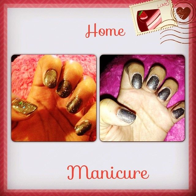 Boltons Place with Salone Square on top both by Nails Inc #InstaFrame #manicure #nailsinc #home #sparkles