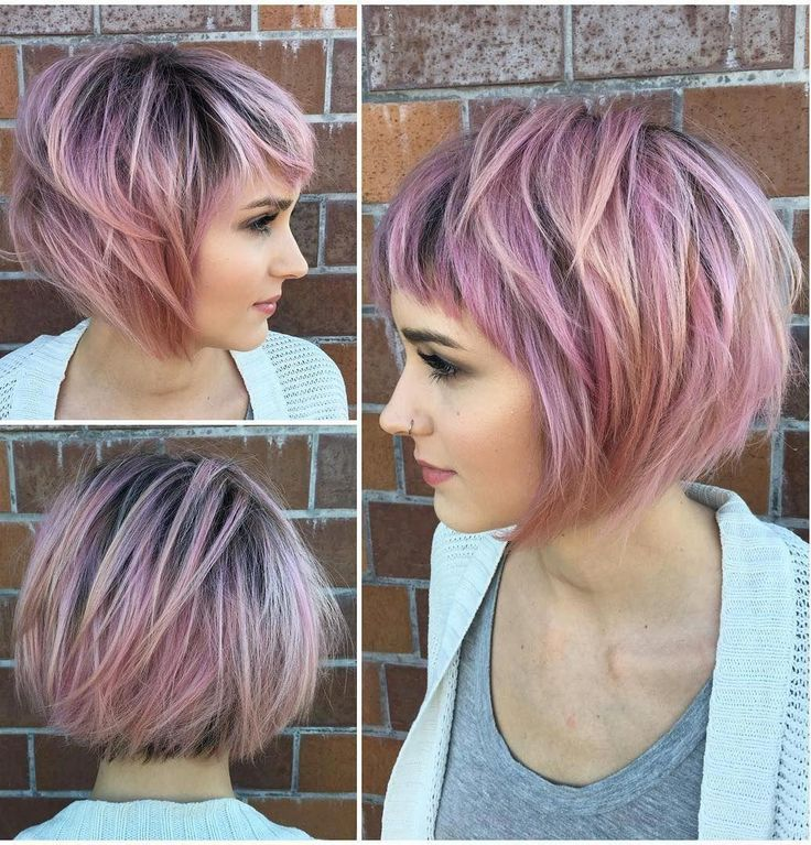 42 Short Pastel Blonde Bob Haircuts for Thin Hair That Score Maximum Style Point - Wass Sell #bobhairstylesforfinehair