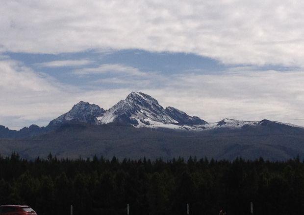 Vista del Rumiñahui desde El Boliche. Foto: Armando Prado / EL COMERCIO