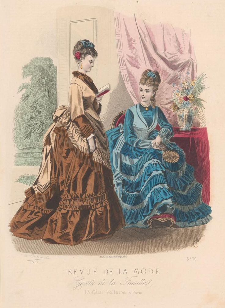 revue de la mode 1873 1873s fashion plates pinterest fashion plates victorian and bustle. Black Bedroom Furniture Sets. Home Design Ideas