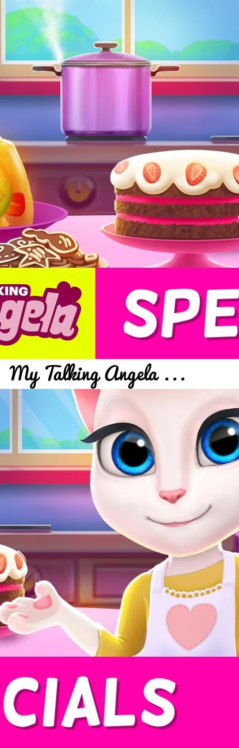My Talking Angela - Time for Cake! (NEW App Update)... Tags: Talking Angela, My Talking Angela, Talking Tom and Friends, lifestyle, beauty, art, app update, cakes, birthday, birthday