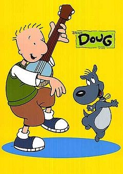 Doug - Created by former Nickelodeon artist Jim Jinkins in 1990 and produced through Jinkins' production company, Jumbo Pictures Inc., Doug follows the life of an average kid named Doug Funnie.